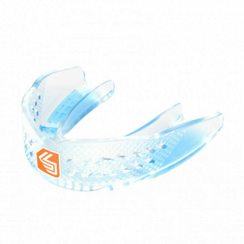 Shock Doctor Adult Superfit Basketball Mouthguard In Clear