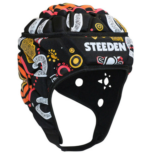 Steeden Headguard Indigenous NRL Rugby Football Small 56cm