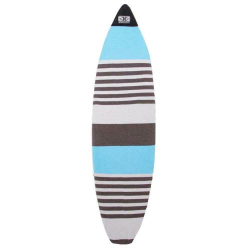 Ocean & Earth 7'6 Fish Surfboard Stretch Cover - Single Board In Blue