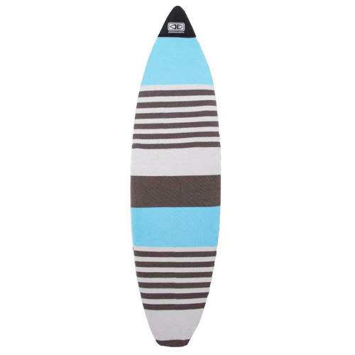 Ocean & Earth 7'0 Fish Surfboard Stretch Cover - Single Board In Blue