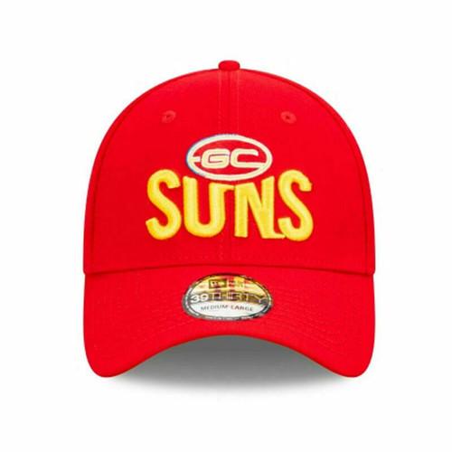 Gold Coast Suns Official AFL Team Colour 39THIRTY Hat New Era