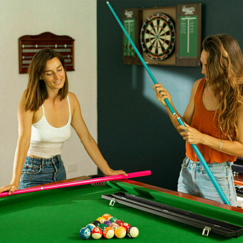 """Fluro Series Pool / Snooker Cue 57"""" 2Pce Cues From Formula Sports"""