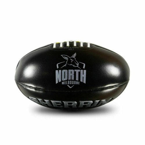 Sherrin North Melbourne Kangaroos AFL Football - Soft Touch Size 3 Footy