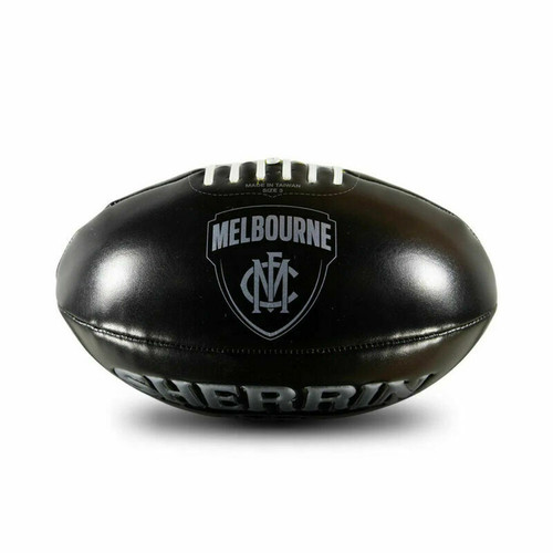 Sherrin Melbourne Demons AFL Football - Soft Touch Size 3 Footy