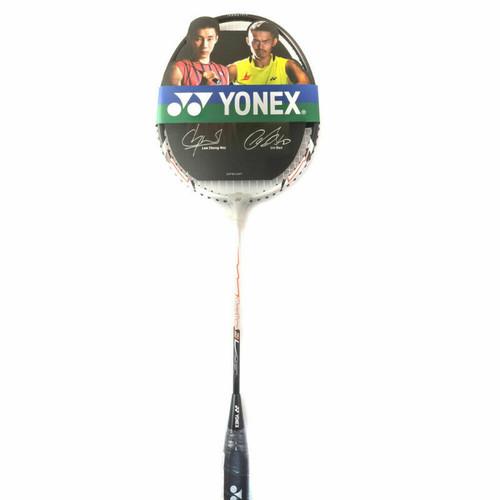Yonex Muscle Power 2 Badminton Racquet - strung In White Multi