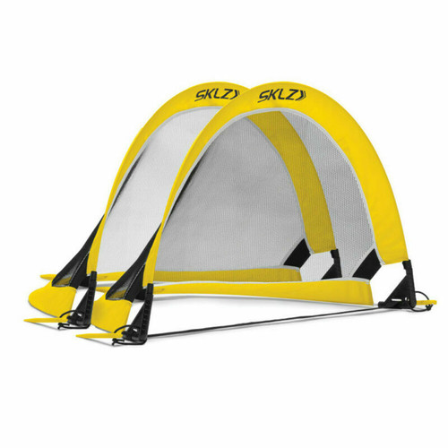 "Sklz Playmaker 2 Pack Soccer / Football Goal Set - 2'6"" Pop-Up Goals"