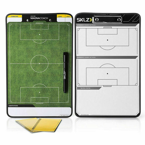 Sklz Magnacoach Soccer / Football Double-sided Coaches Whiteboard