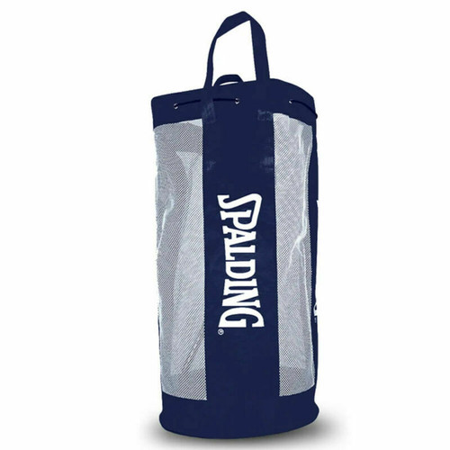 Basketball Mesh Basketball Bag - Holds Up To 10 Basketballs From Spalding