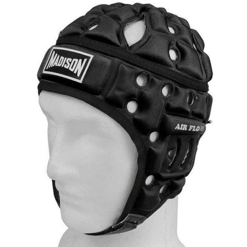 Air Flo Football Headguard in Black from Madison