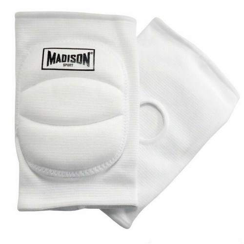 Madison Volleyball Knee Pads In White Or Black- Sports Therapy