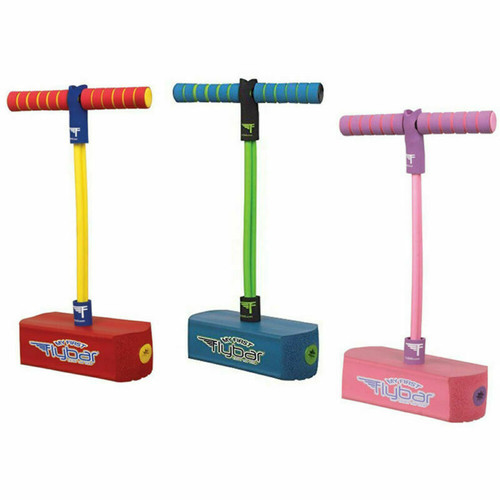 Flybar My First Kids Pogo Stick For Years 3+  Jump & Squeak - Pick A Colour