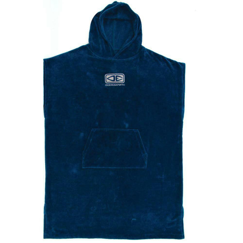 Ocean & Earth Corp Hooded Surf Poncho Towel In Navy