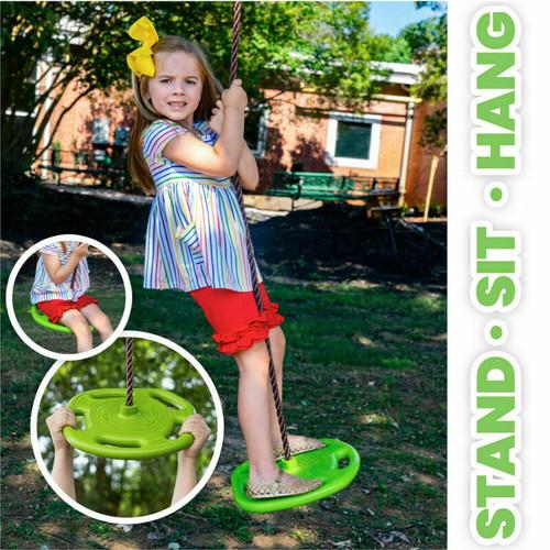 SWURFER 3 In 1 Outdoor Tree Swing - Backyard Swing Set - Tree Swing