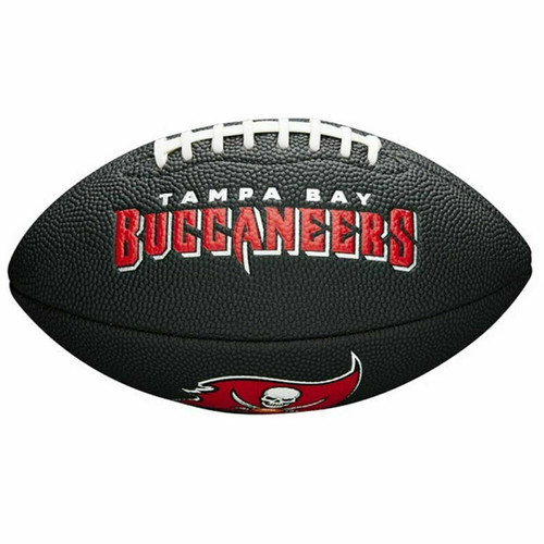 Wilson Tempa Bay Buccaneers Football Mini Size Gridiron Ball In Jet Black