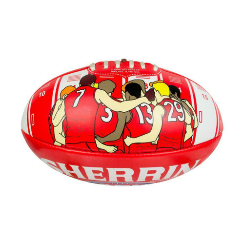 AFL Sydney Swans Song Ball - PVC Ball Size 2