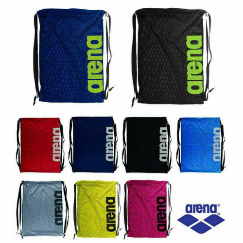Arena Swimming Team Mesh Bag For Goggles And Flipper Storage