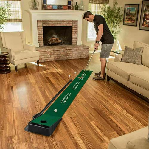 SKLZ Golf Accelerator Pro Putting Mat With Ball Return