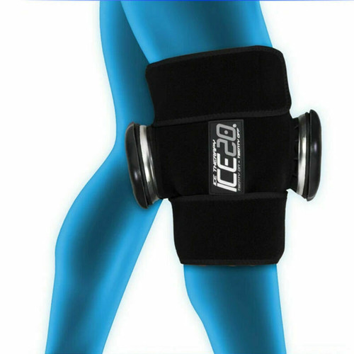 Ice20 Double Knee Ice Therapy Compression Therapy - Pain Relief