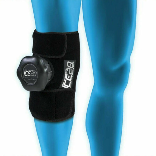 Ice20 Single Knee Ice Therapy Compression Therapy - Pain Relief