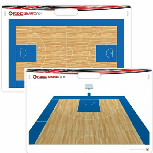 Fox40 Smart Coach Pro Rigid Carry Basketball Board - With Marker & Carry Bag