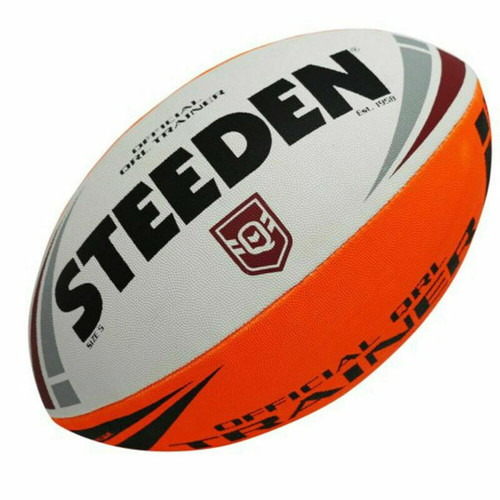 Steeden NRL Official QLD Trainer Ball State Of Origin - Size 5