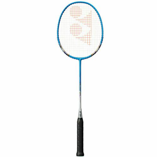 Yonex Muscle Power 8S Badminton Racquet - G4 Strung Racket In Cyan