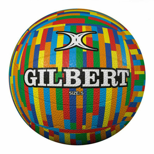 Gilbert Fun Collection - Glam Stripes Edition Netball - Size 5