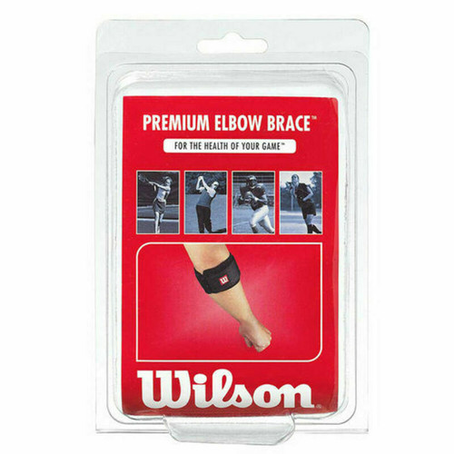 Wilson Premier Elbow Brace - Tennis, Golf, Football, Fastpitch