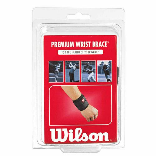 Wilson Premier Wrist Brace - Tennis, Golf, Football, Fastpitch