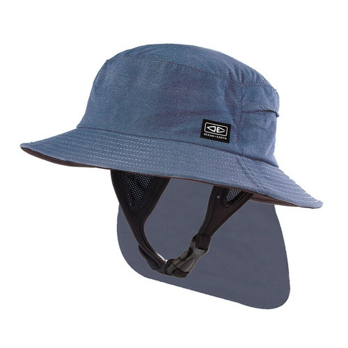 Adult Ocean & Earth Indo Surf Hat For Surfing & watersports - Blue Marle Colour