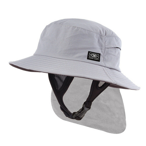 Adult Ocean & Earth Indo Surf Hat For Surfing & watersports - Grey Colour