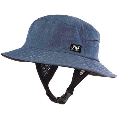 Ocean & Earth Adult Size Medium Bingin Soft Peak Surf Watersports Hat Blue Marle