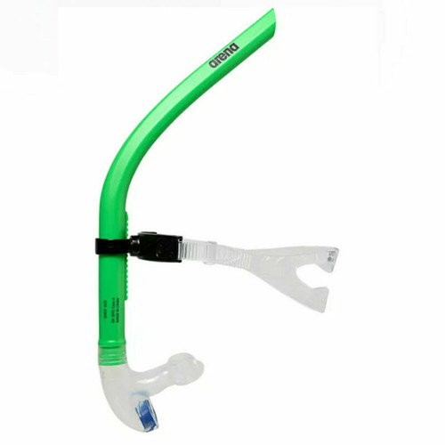Arena Swim Snorkel III In Lime- Swimming Training Aid