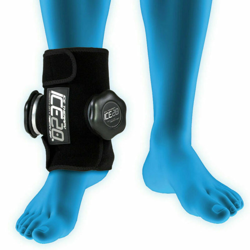 Ice20 Double Ankle Ice Therapy Compression Therapy - Pain Relief