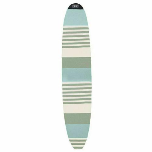 Ocean & Earth 9'6 Longboard Surfboard Stretch Cover - Single Board In Sky Multi