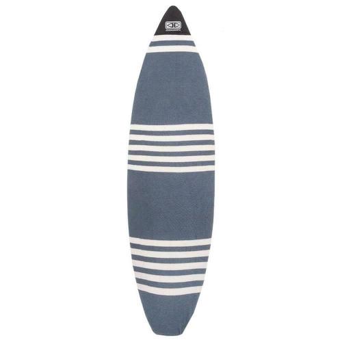 Ocean & Earth 7'6 Fish Surfboard Stretch Cover - Single Board In Denim