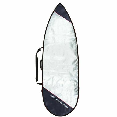 Ocean & Earth 5'4 Barry Basic Short Surfboard Cover - Red Trim