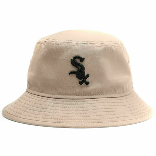 New Era Chicago White Sox Bucket Hat In Camel Colour