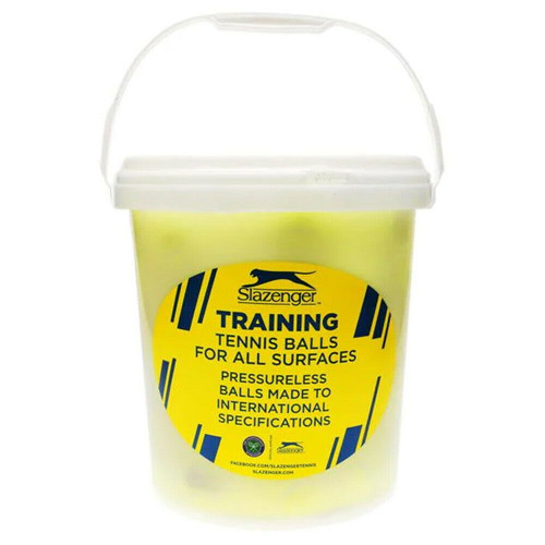 Slazenger Tennis Training Balls Bucket - 5 dozen / 60 Slazenger Tennis Balls