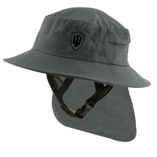 Far King Adult All Day Surf Watersports Hat in Charcoal