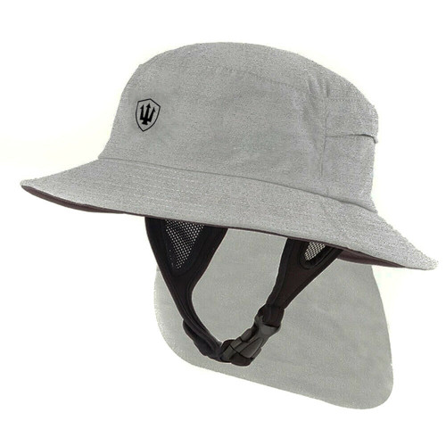 Far King Adult All Day Surf Watersports Hat in Stone Grey