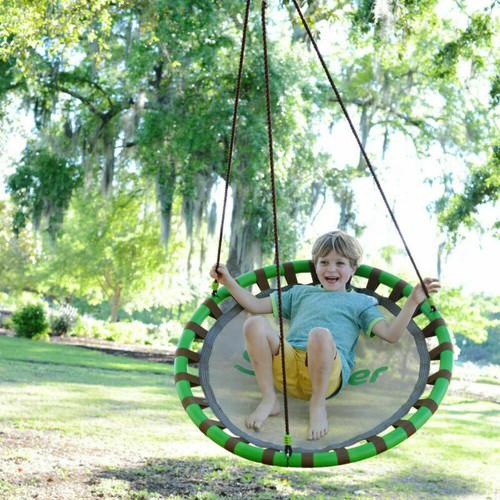 """SWURFER Orbit Swing - Backyard 40"""" Swing Set - Tree Swing"""