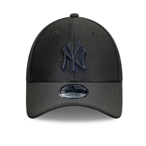 NY Yankees New Era MLB Hex Edition 9FORTY Hat Curve Buckle