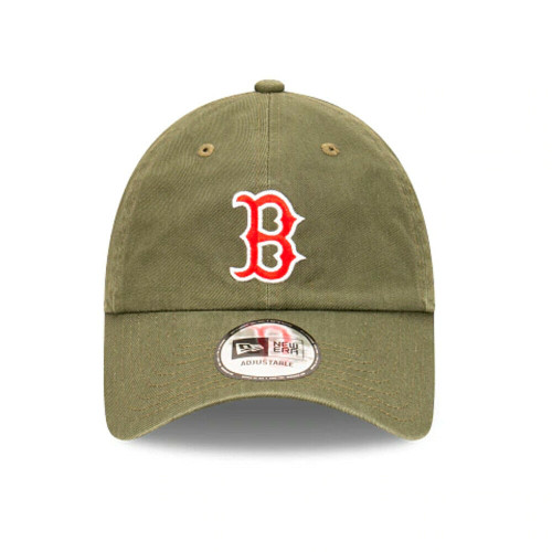 New Era Boston Red Sox Olive Casual Classic Hat