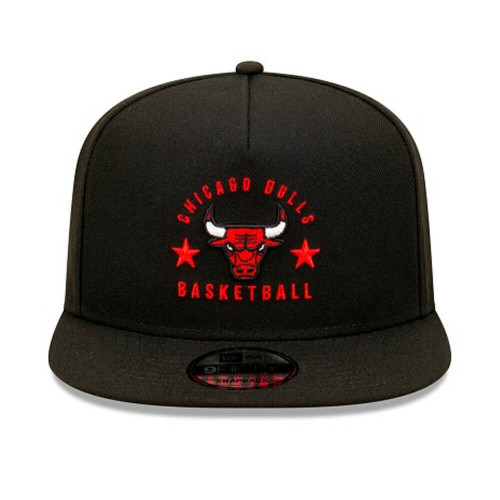 New Era Limited Edition Chicago Bulls NBA 9Fifty Hat A Frame Snapback Cap