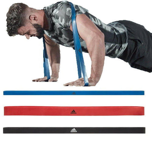 Adidas Power Band Resistance Band - THREE INTENSITY LEVELS
