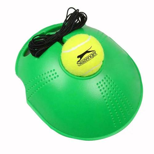 Slazenger Tennis Trainer With Slazenger Tennis Ball - 4m Elastic String