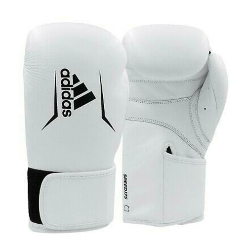 Adidas Speed 50 Boxing / MMA 8oz Gloves In White