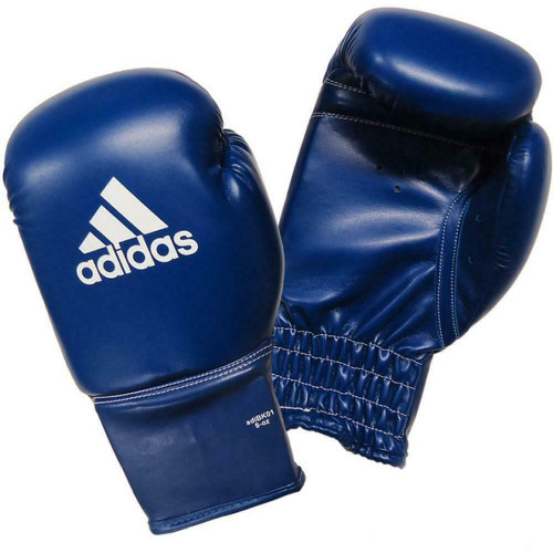 Adidas Kids / Rookie 8oz Blue Boxing Training Gloves / MMA