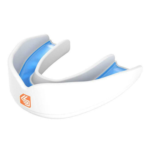 Shock Doctor Superfit All Sport Mouthguard White Youth Years 10 & Under